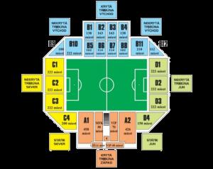 plan stadiona