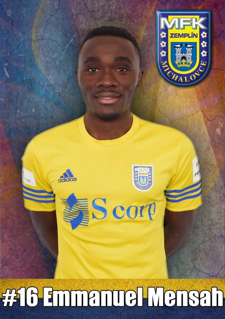 16 Emmanuel Mensah