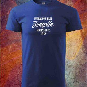 Tričko modré Zemplín vzor č2